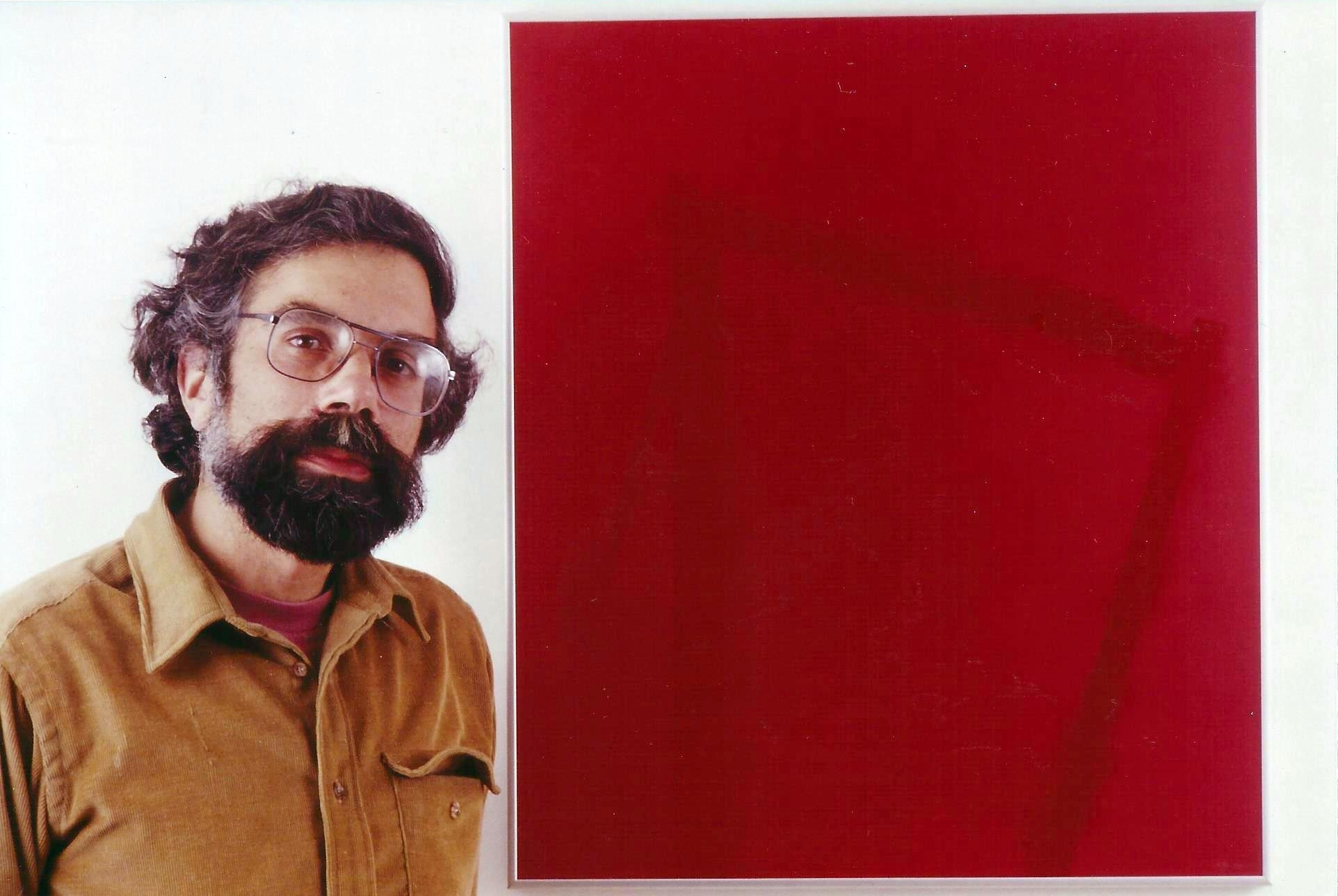 Kehlmann with Red Glass Drawing