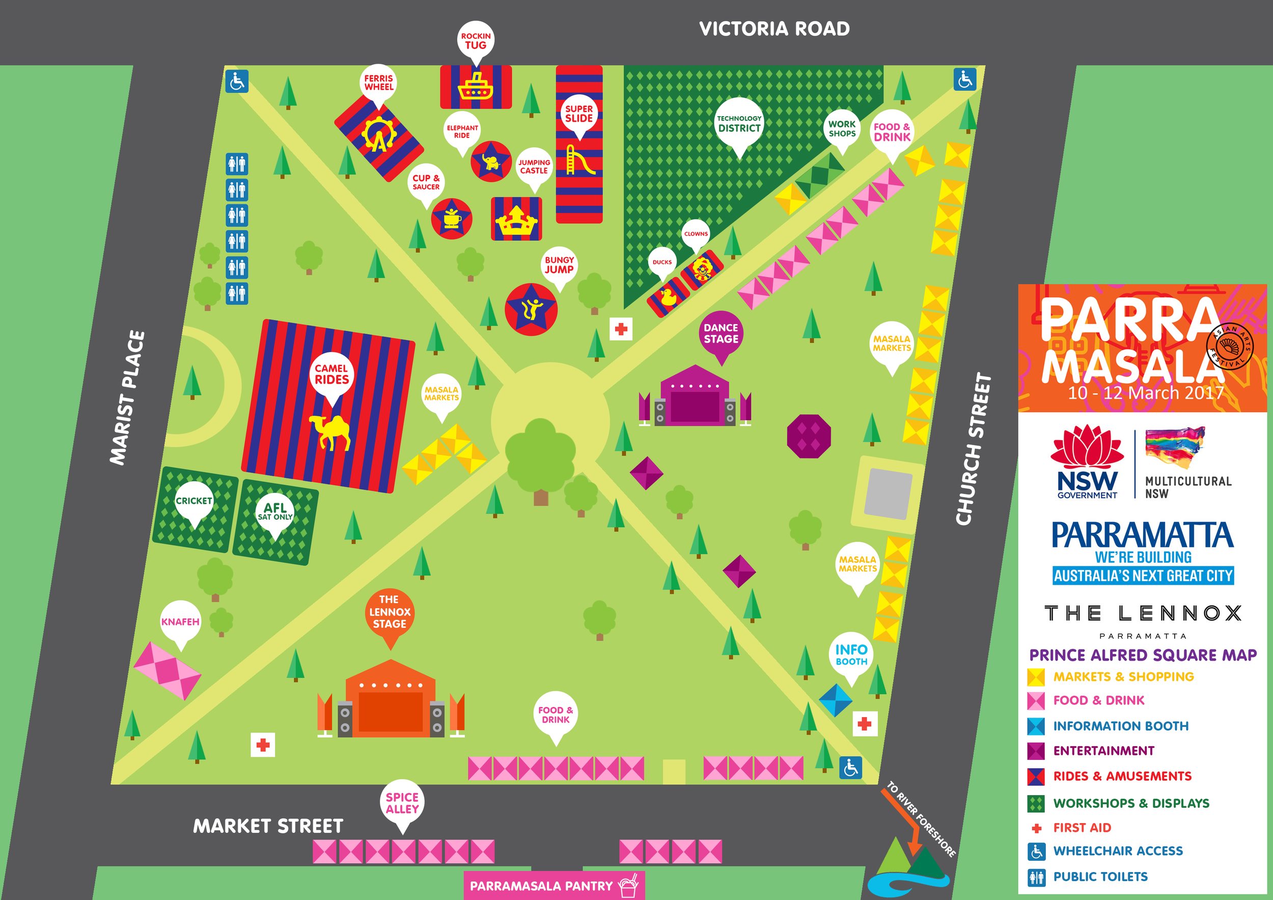 Prince Alfred Square Map