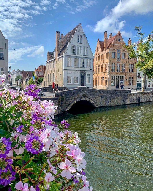 I'm feeling inspired to paint after visiting the beautiful town of Brugge- everywhere I looked seemed to be an even prettier scene ❤️