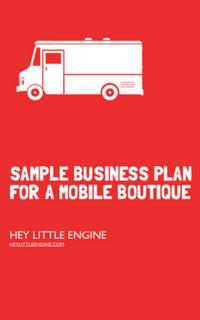 Fashion Truck Business Plan Template