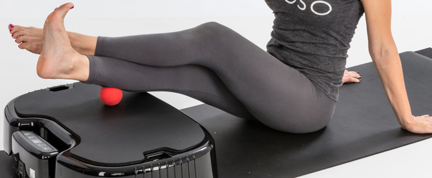 Naboso™ + Power Plate® - NABOSO™ partners with POWER PLATE® to provide an innovative proprioceptive surface to their whole body vibration platforms