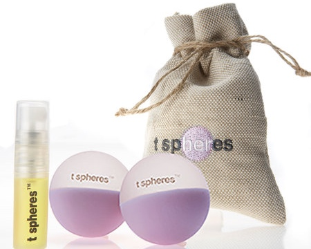 Aromatherapy Massage Ball Set by T-Spheres (www.tspheres.com)
