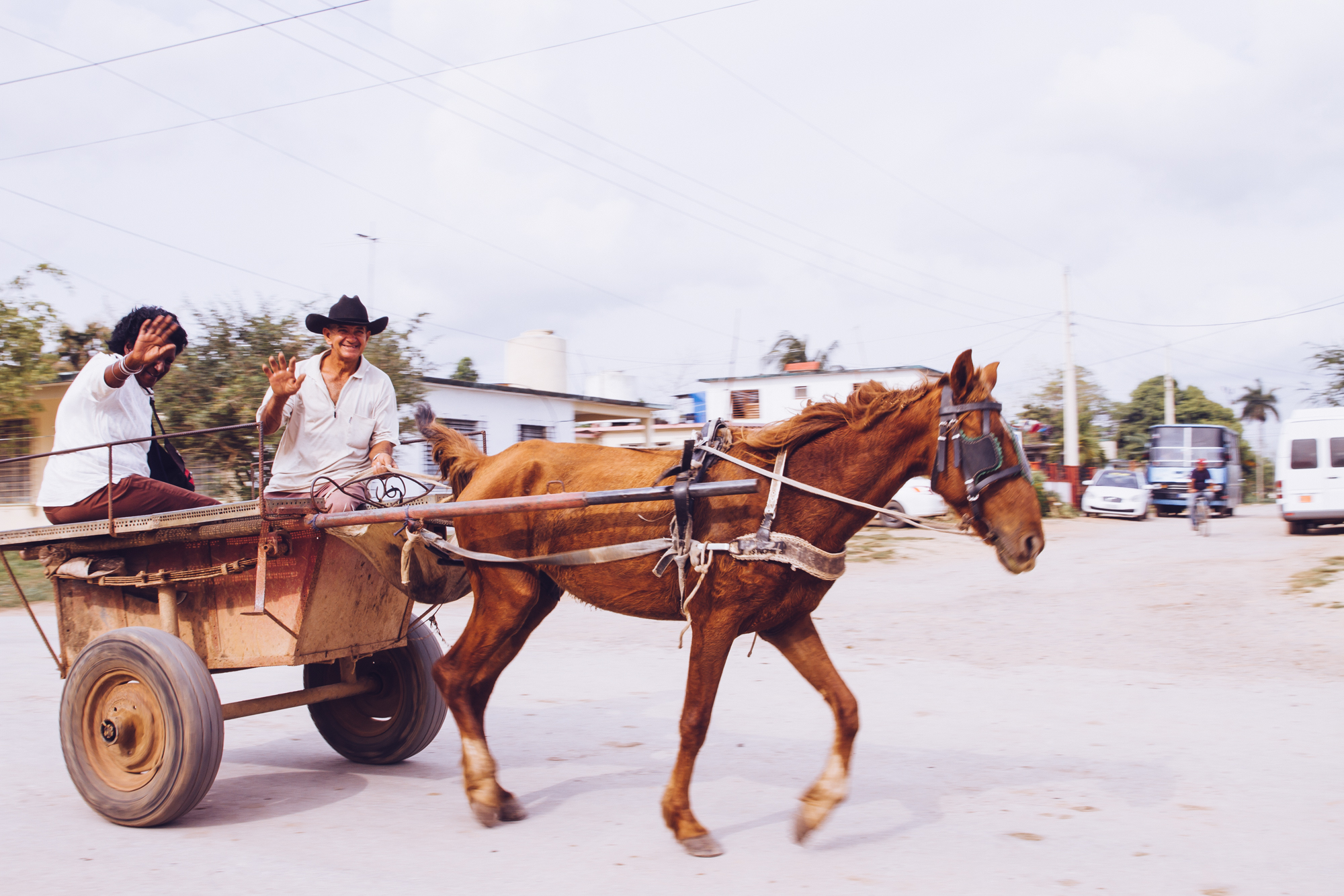 Horse and Carriage in Cuba