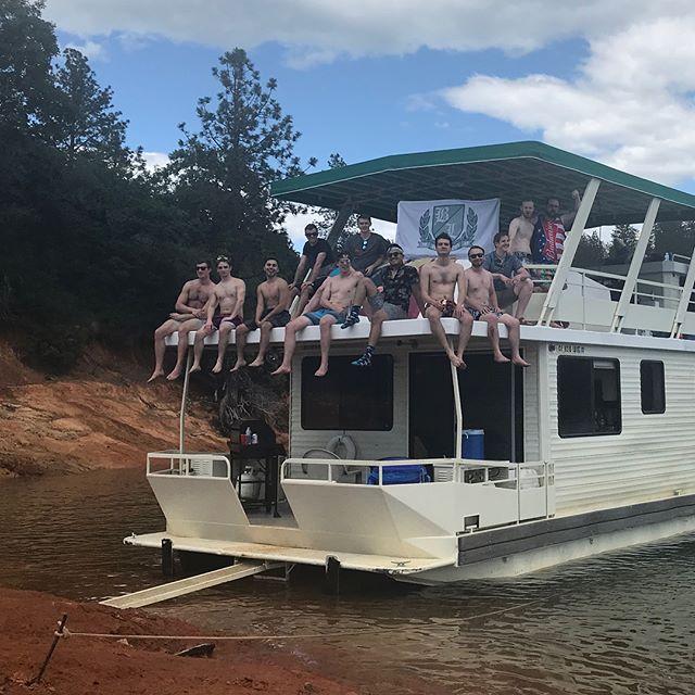 Land Ho!! The Beaver Lodge's trip to Lake Shasta was sunny and full of memories. Can't wait until next year. #BeaverLodgeThings #BeaverLodge #LakeShasta #SlaughterHouseIsland