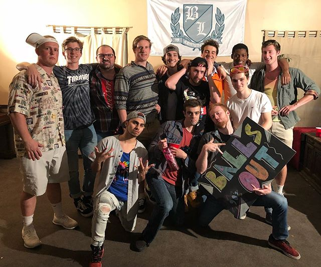 We went back to the 90's for our annual Ball's Out Party! Thanks to everyone who came and made it awesome! #BeaverLodgeThings #TheBeaverLodge #BallsOut2018 #SpringTerm #90'sTheme #90'sThrowback