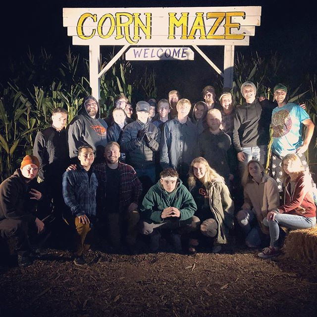 The Melon Shack's Corn Maze was haunted by Beaver Lodgians tonight. #TheBeaverLodge #BeaverLodgeThings #SpookySZN #HauntedCornMaze #OSU