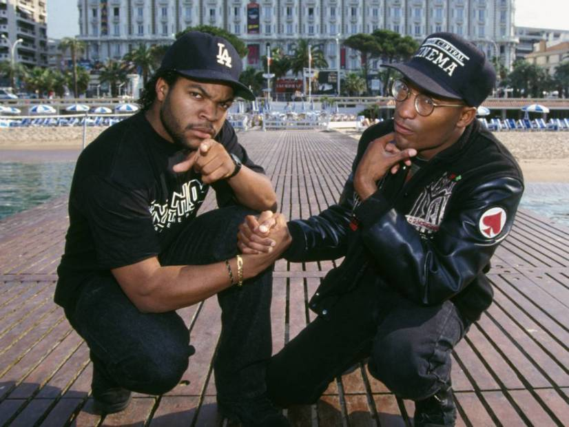 John Singleton and Ice Cube.