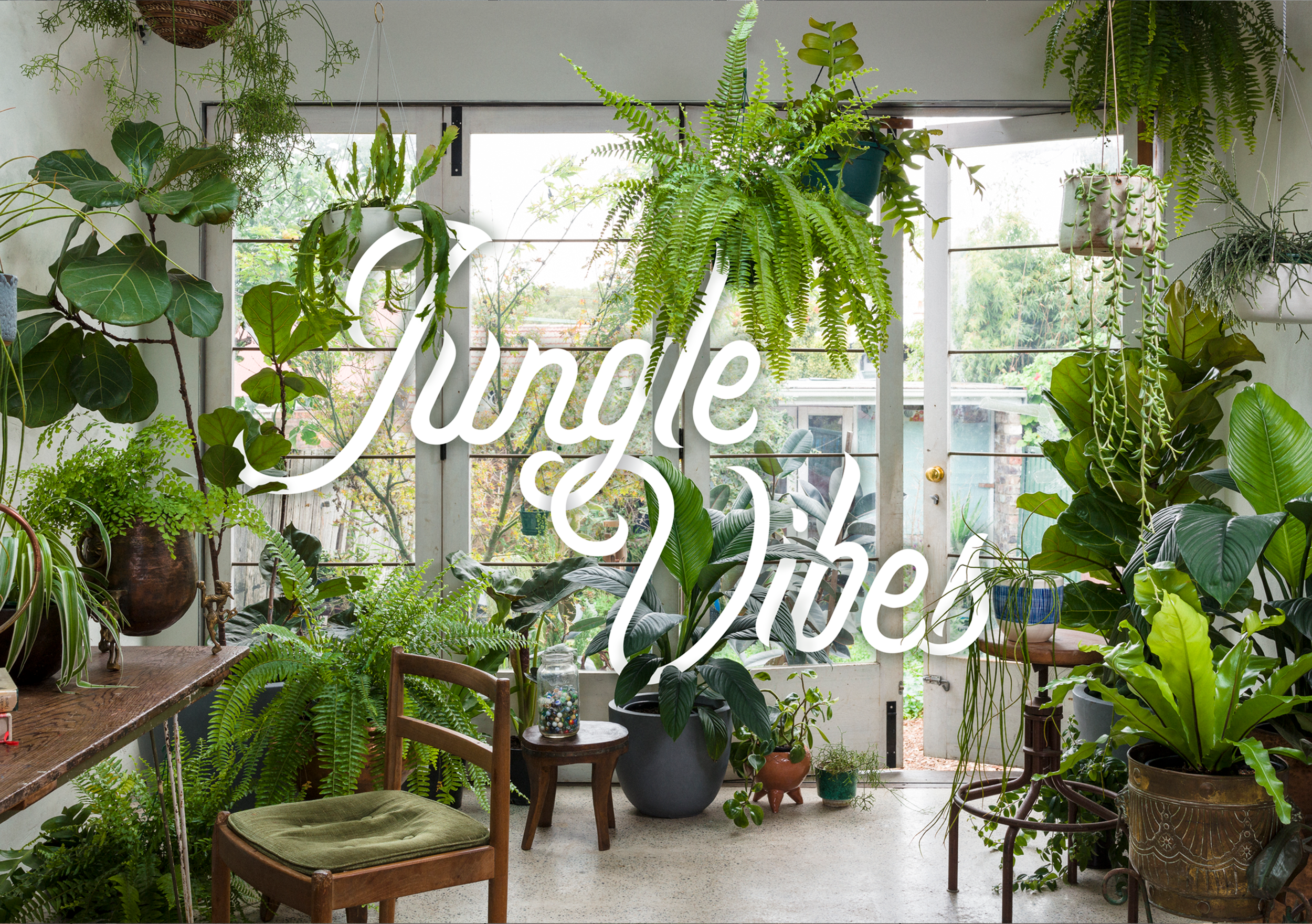 Jungle Vibes - If you're the loose, wild type, then this one's for you. Dripping with lush, tropical plants, it's ideal for those who enjoy low lighting and sleepovers. Grrrr.