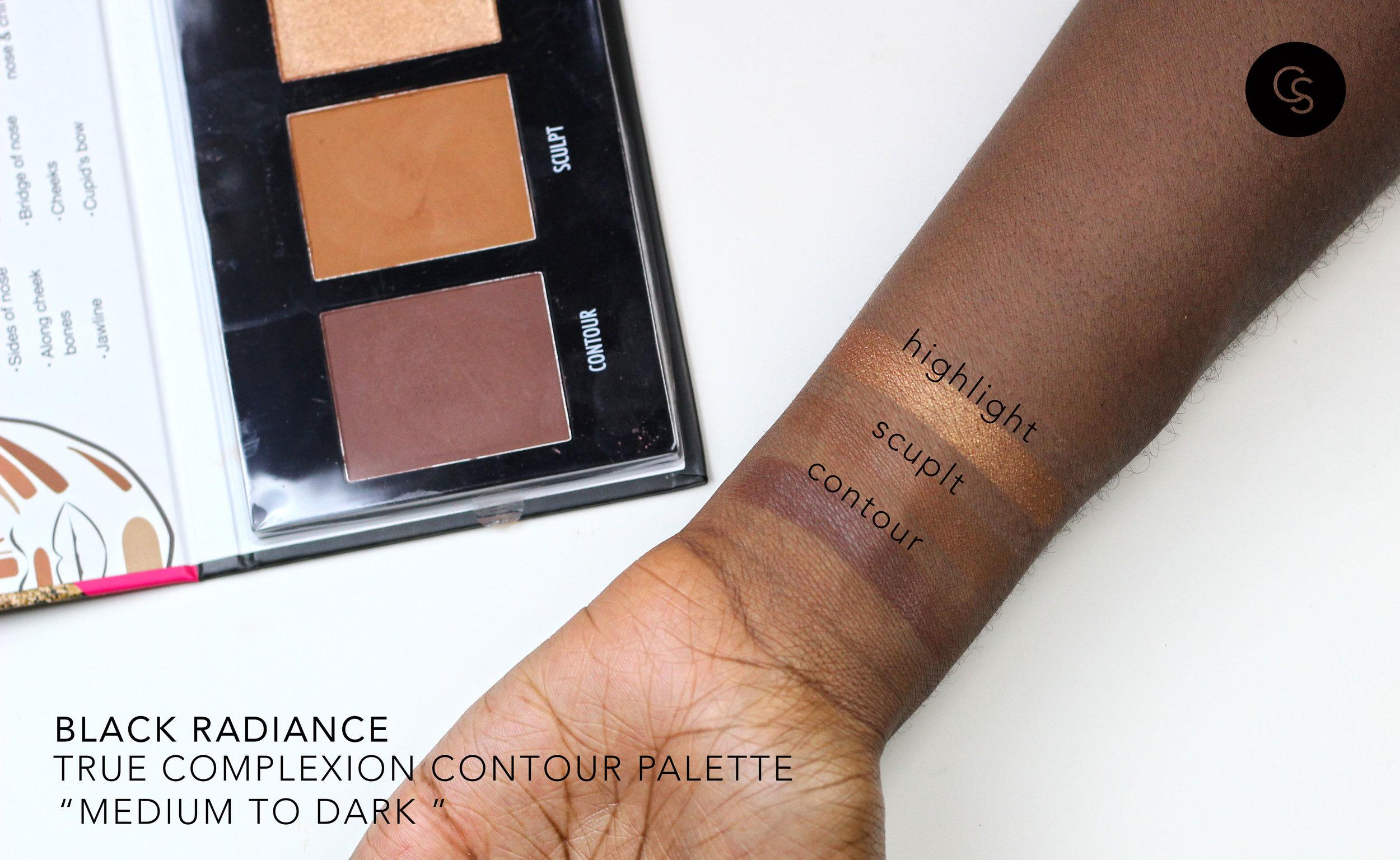 black radiance contour kit medium to dark