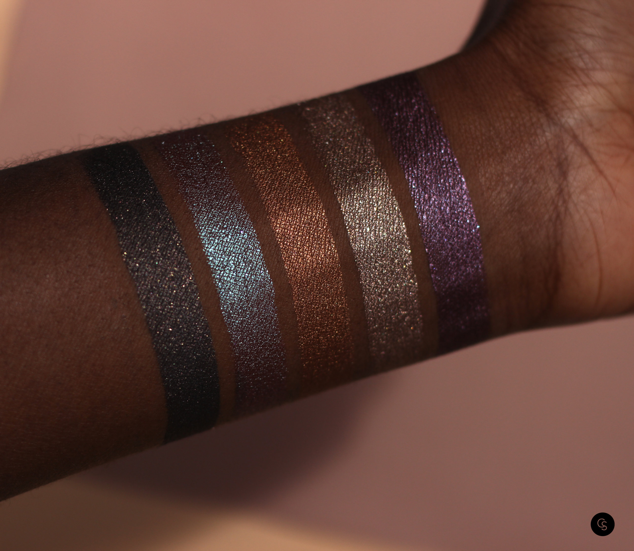 Eye Appeal Shadow Base Black Radiance Cocoa Swatches