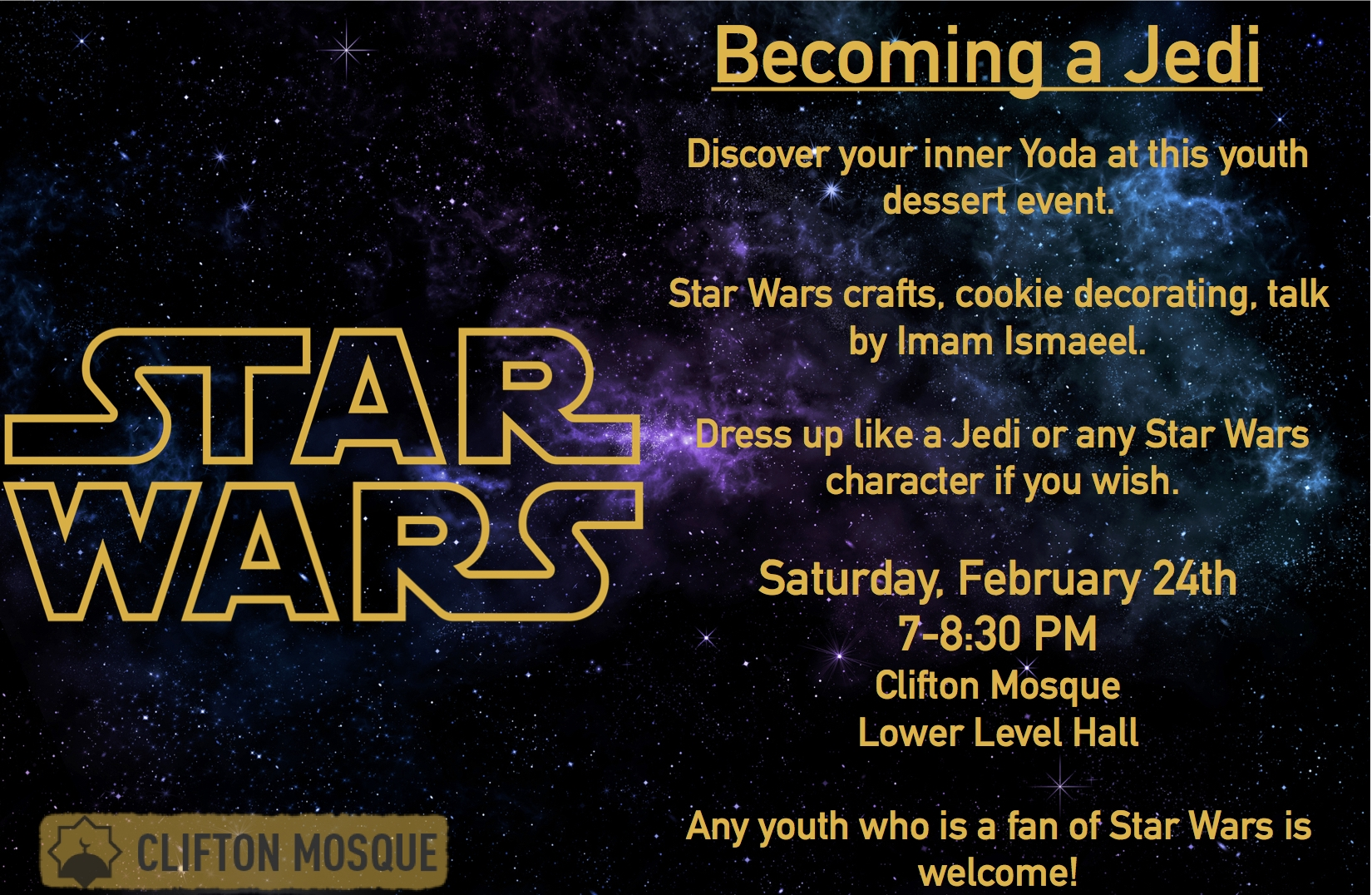 Join us for this amazing youth dessert event for kids of all ages!