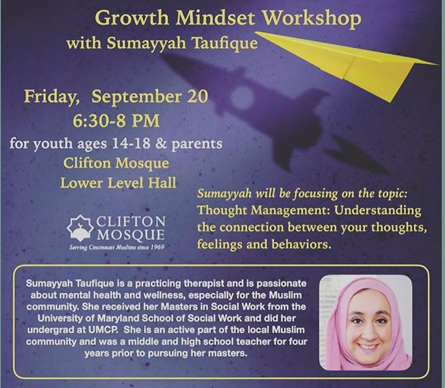 Childcare is available for this event. $2/child. #inshallah🙏
