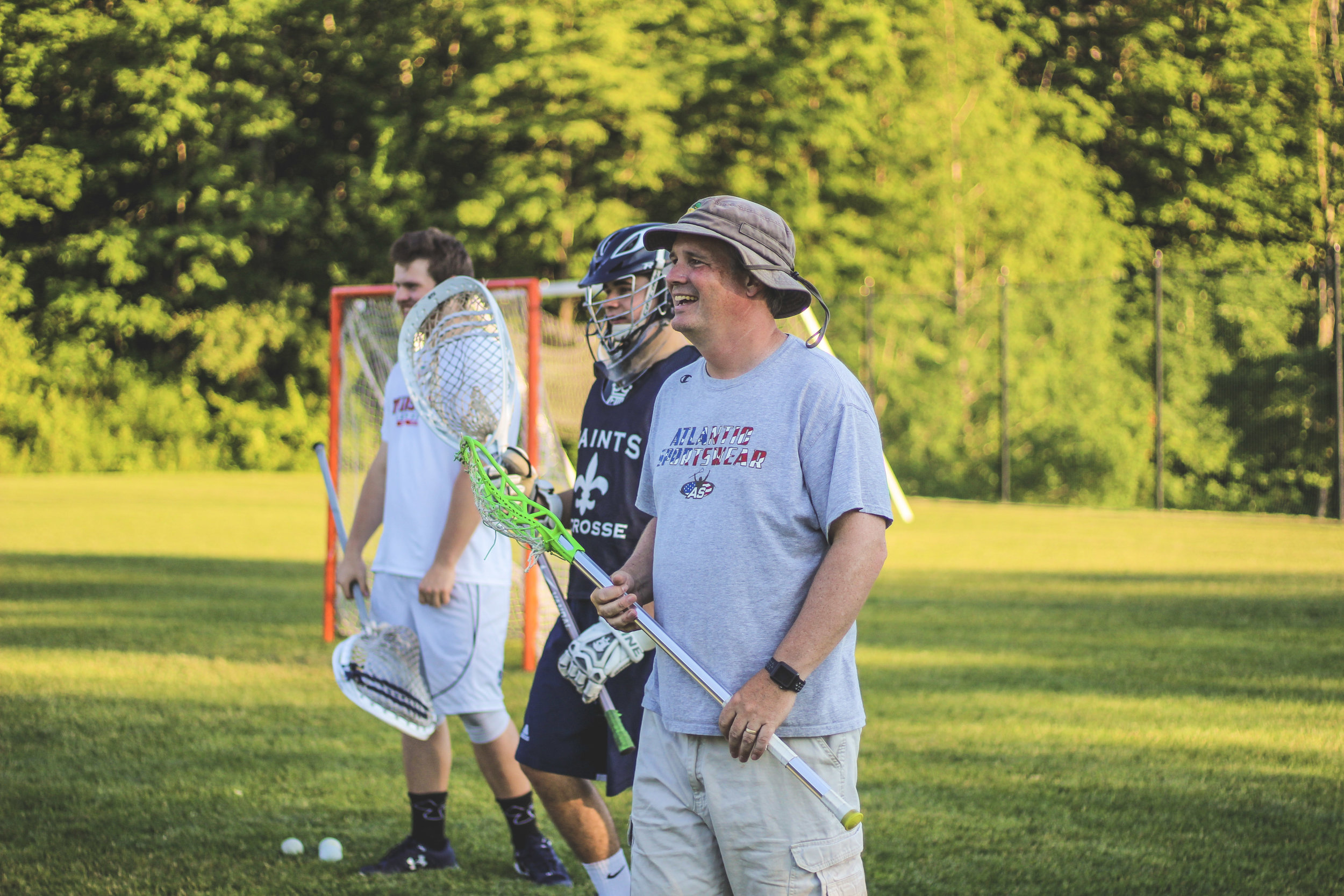 Sean Houlahan, Head Lacrosse Coach at St. Thomas Aquinas High School in Dover, NH, created Houlagan Lacrosse 10 years ago in the hopes of sharing the game he loves with players of ages and levels.