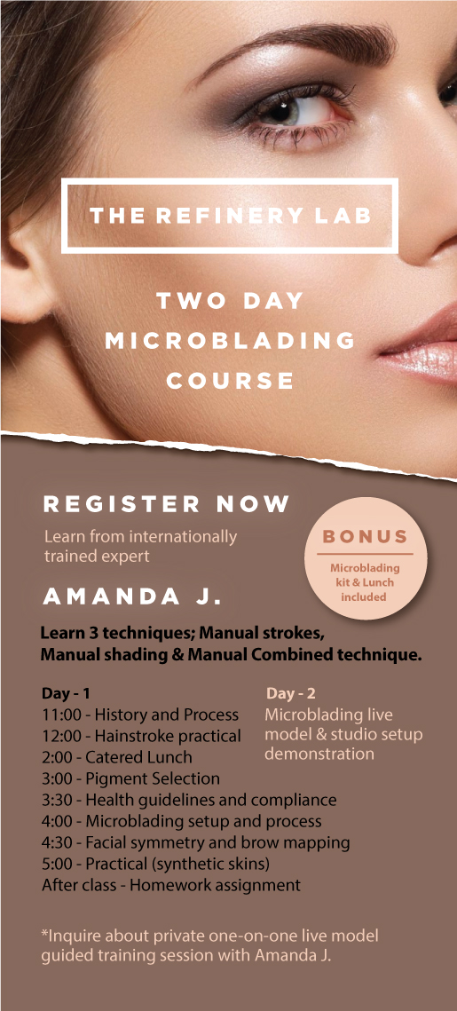 Brow training course