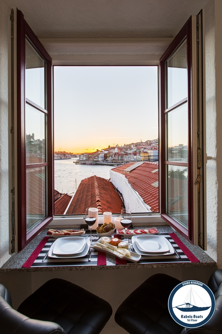31. Douro Riverside - Rabelo Boats (View Late Dinner).jpg