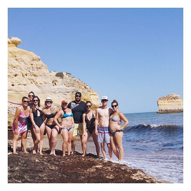 Cheers to another epic vacation with this crew. 👙🐟☀️🌊🚤Bring on Charleston 2020! | #algarve #portugal | 08.30.2019