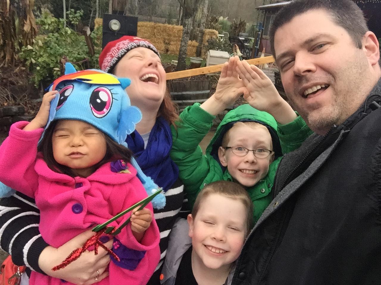 Family Christmas Tree Hunt