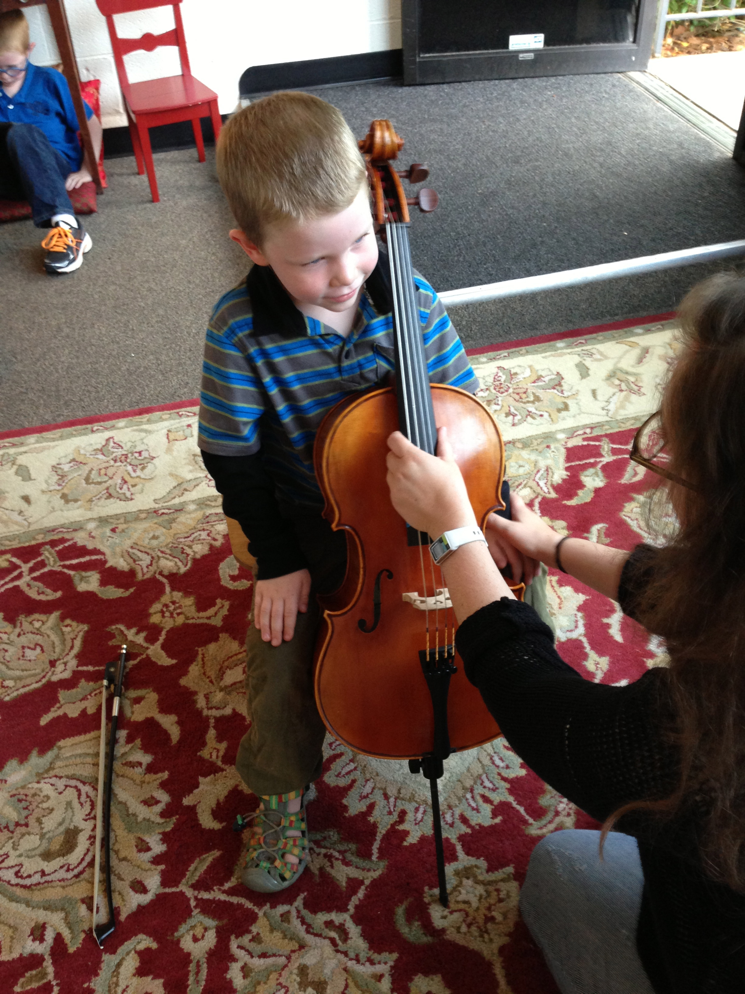 A Star Wars cello video inspired him to start playing.