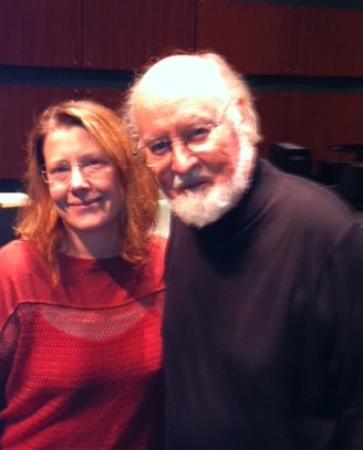 With the incredible John Williams.