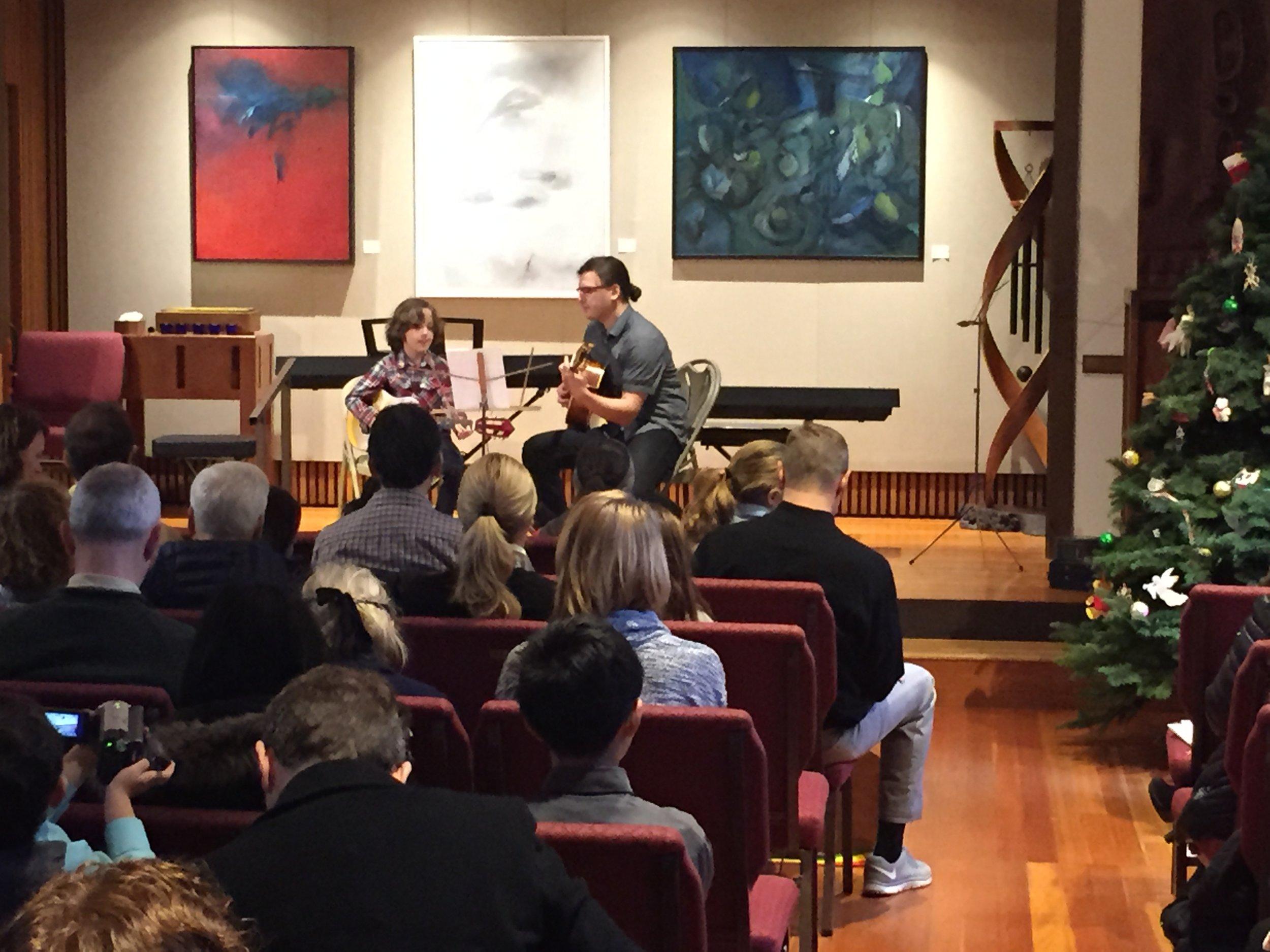 Winter recital 2015