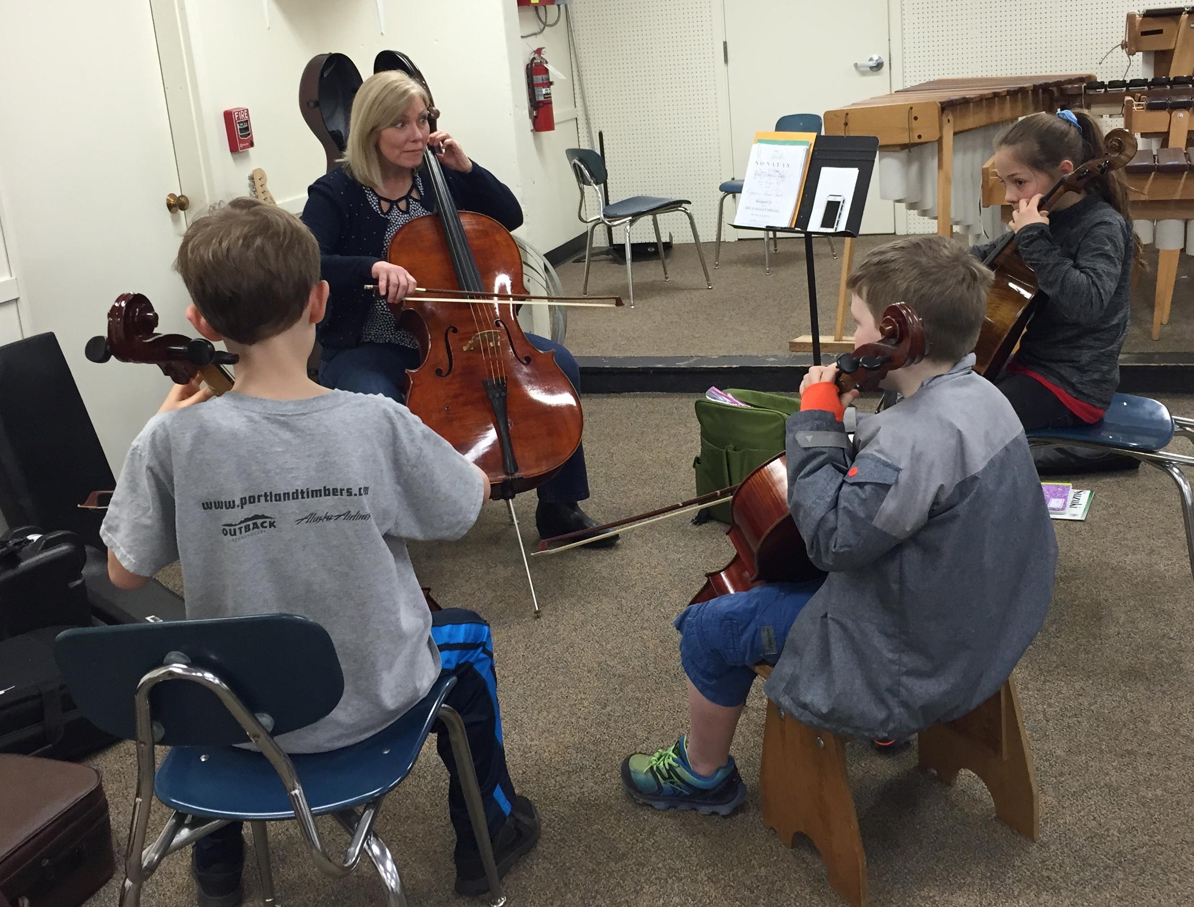 Cello Group Class