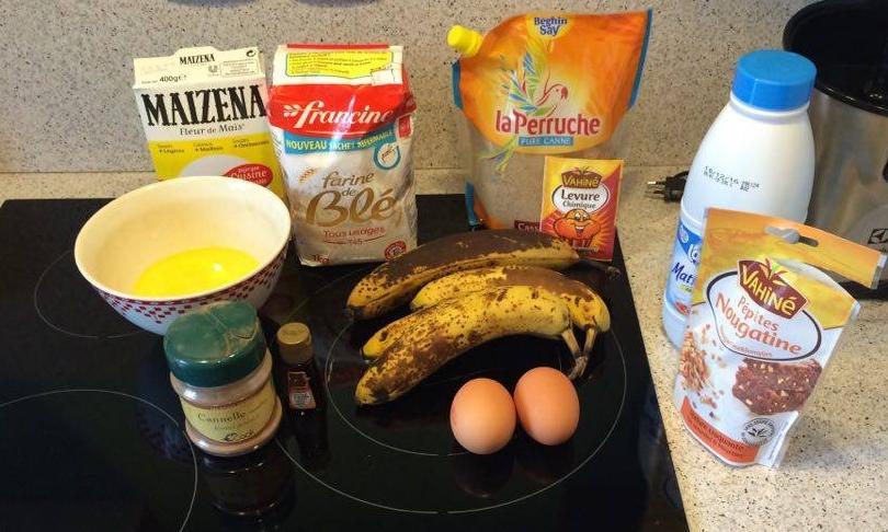 Préparation des ingrédients