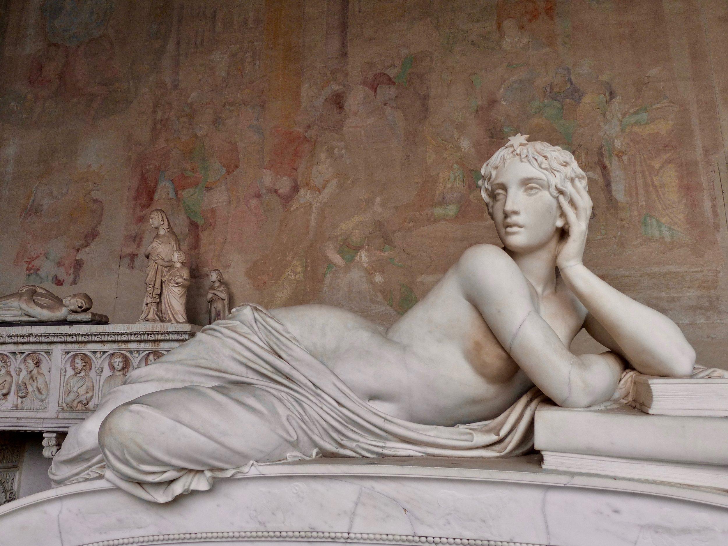 Magnifique Sculpture au Camposanto Monumentale- Pise