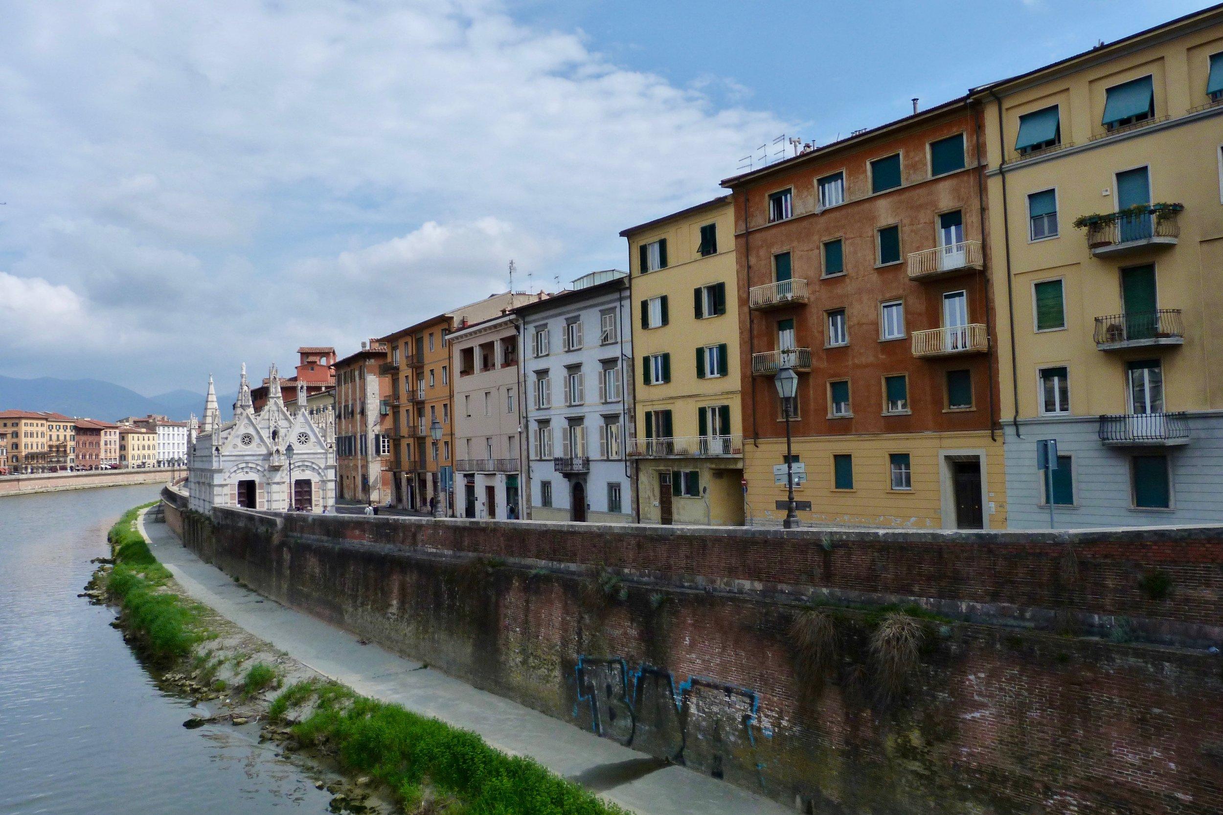 Sur les berges de l'Arno