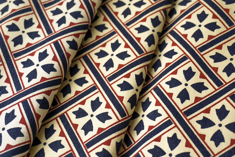 Laura Ashley's  Mr Jones  fabric, 1984