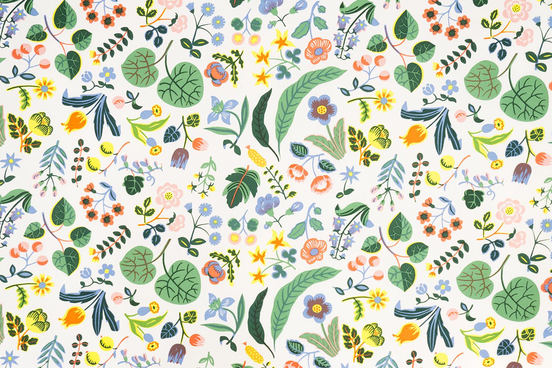 Mille Fleurs (A Thousand Flowers), 1940s