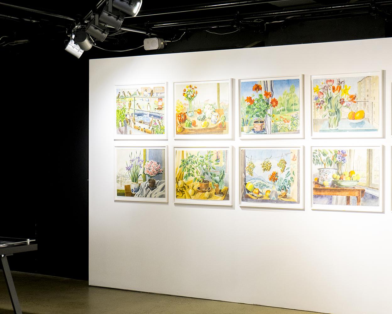 colour + shape   Interior Design Studio   Cambridge - Josef Frank Watercolours