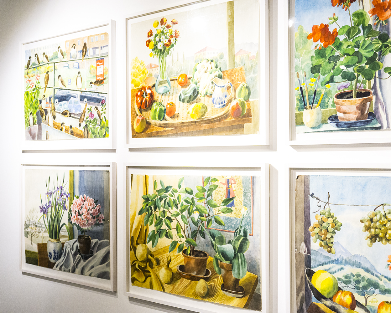 colour + shape | Interior Design Studio | Cambridge - Josef Frank Watercolours