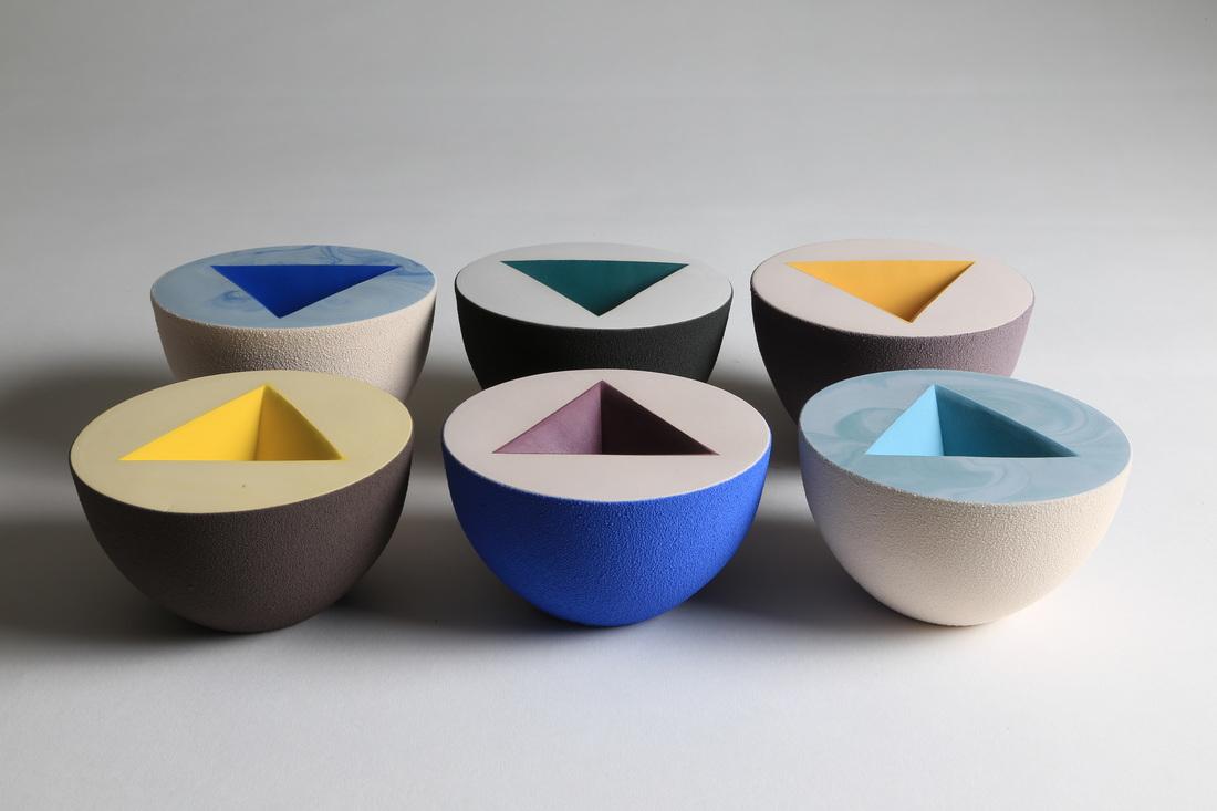 colour + shape | Interior Design Studio | Cambridge - Sophie Southgate Ceramics