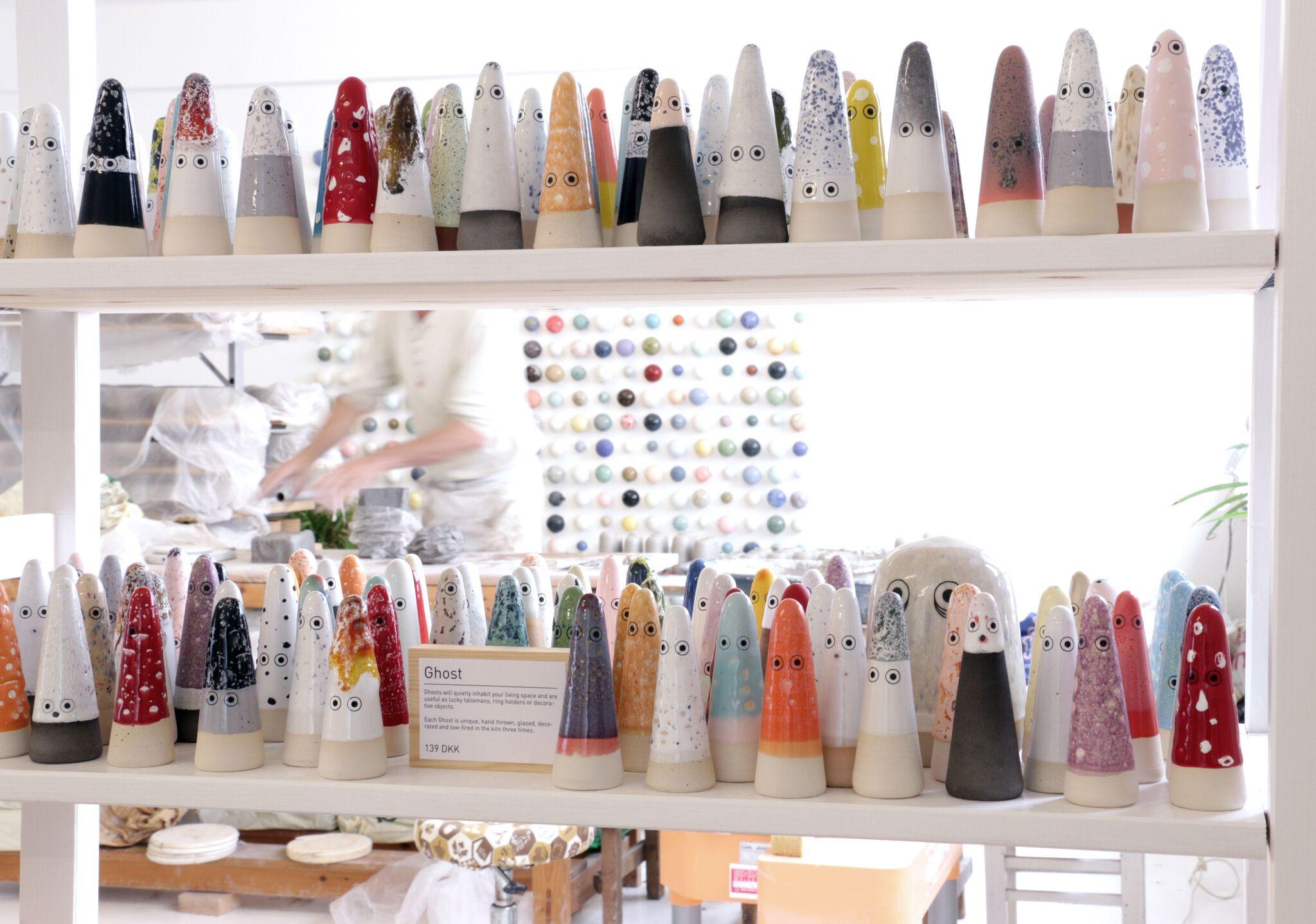 colour + shape | Interior Design Studio | Cambridge - Studio Arhoj Ceramics