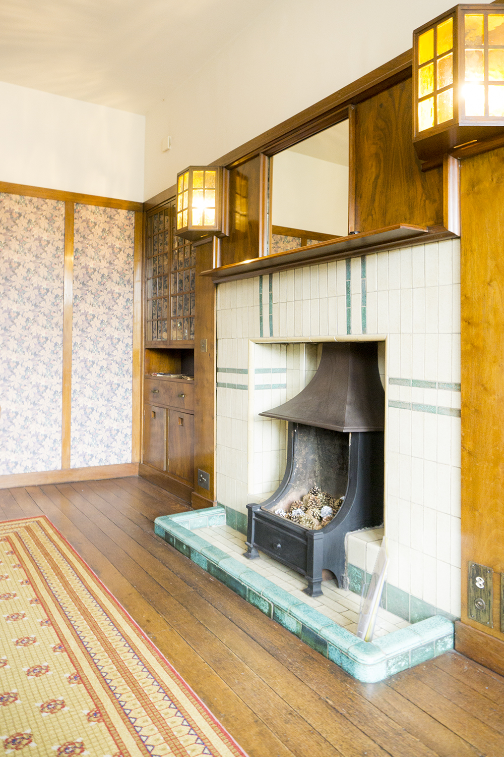 colour + shape | Interior Design Studio | Cambridge - 78 Derngate Mackintosh Fireplace