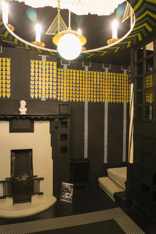 colour + shape | Interior Design Studio | Cambridge - 78 Derngate Mackintosh Design