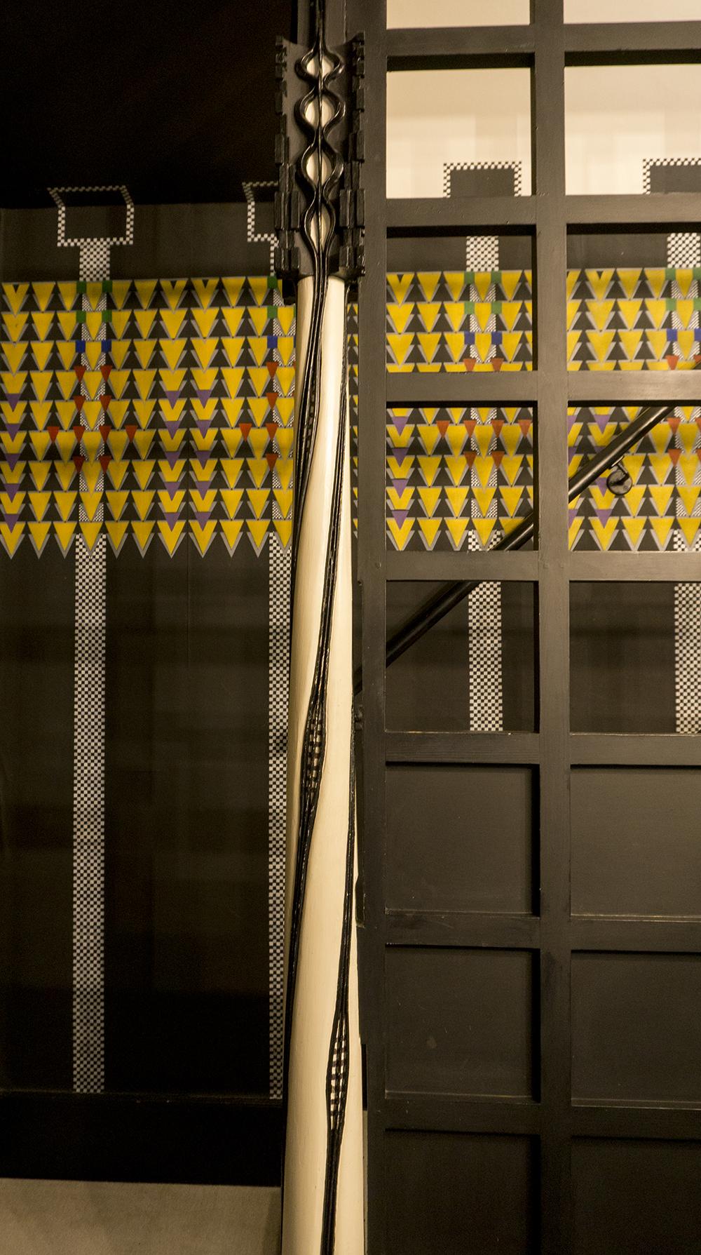 colour + shape | Interior Design Studio | Cambridge - 78 Derngate Mackintosh Newel Post