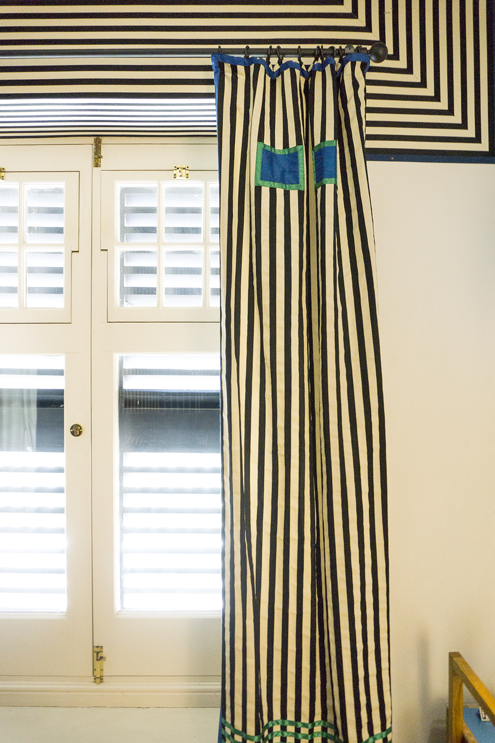 colour + shape | Interior Design Studio | Cambridge - 78 Derngate Mackintosh Curtains