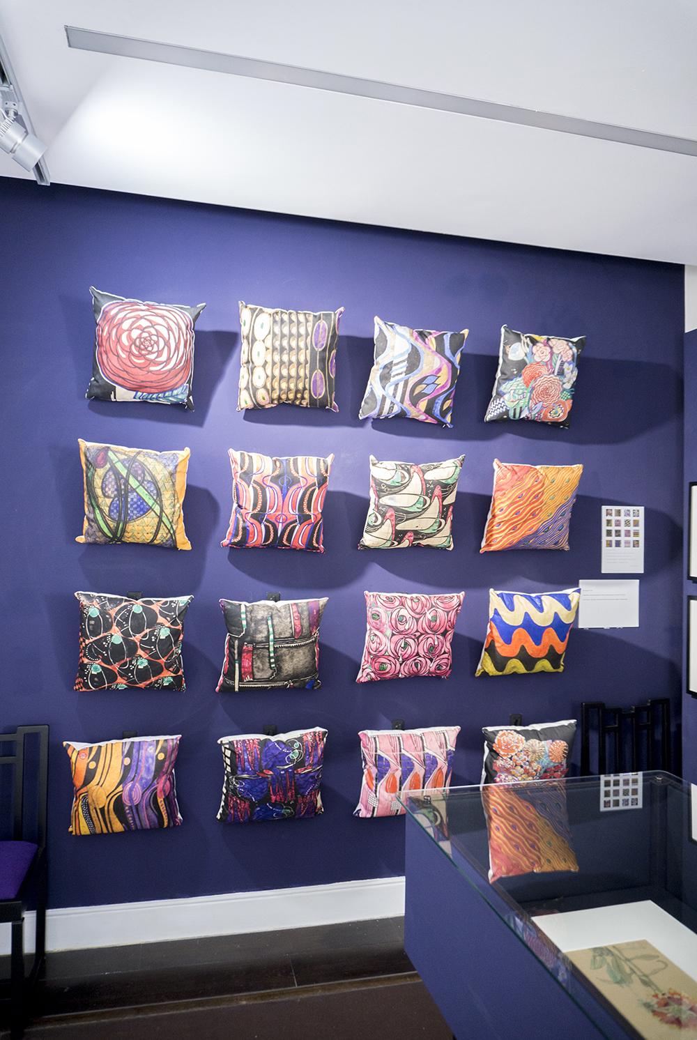 colour + shape | Interior Design Studio | Cambridge - 78 Derngate Exhibition Mackintosh Textile Designs