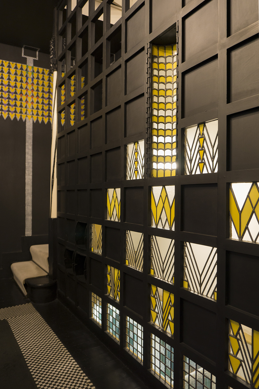 colour + shape | Interior Design Studio | Cambridge - 78 Derngate Mackintosh Screen