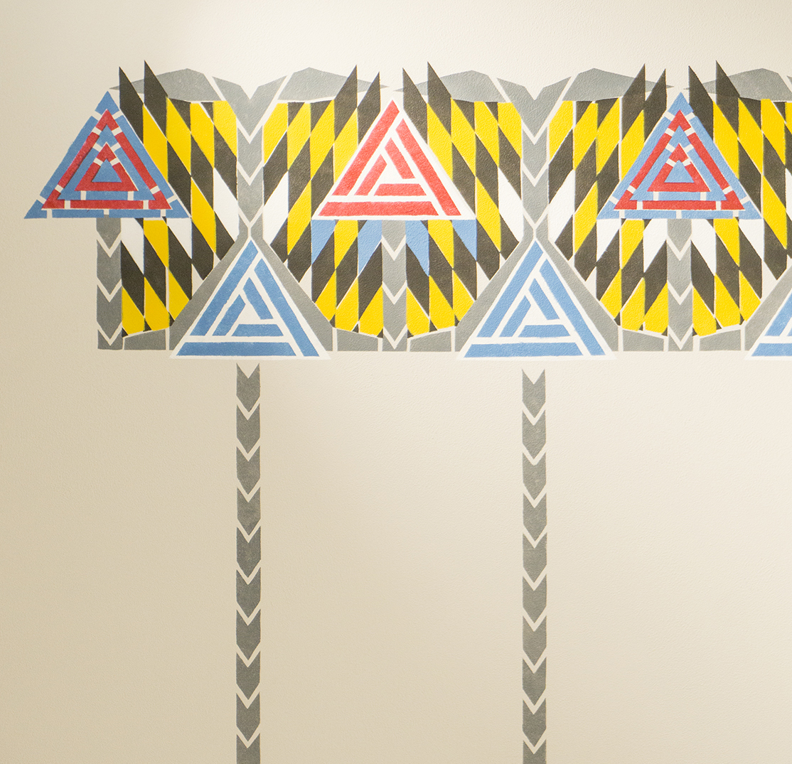 colour + shape | Interior Design Studios | Cambridge - 78 Derngate Mackintosh Frieze