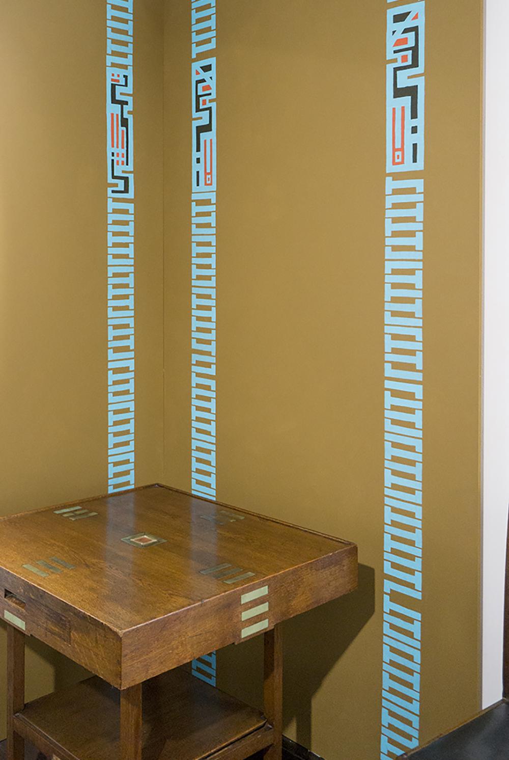 colour + shape | Interior Design Studio | Cambridge - 78 Derngate Mackintosh Exhibition Candida Cottage