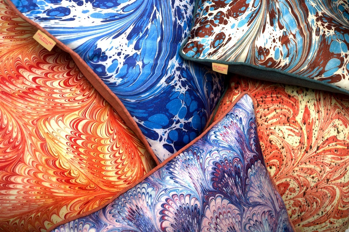 colour + shape | Interior Design Studio | Cambridge - Susi Bellamy Cushions