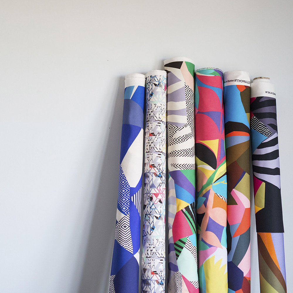colour + shape | Interior Design Studio | Cambridge - Kitty McCall Textiles