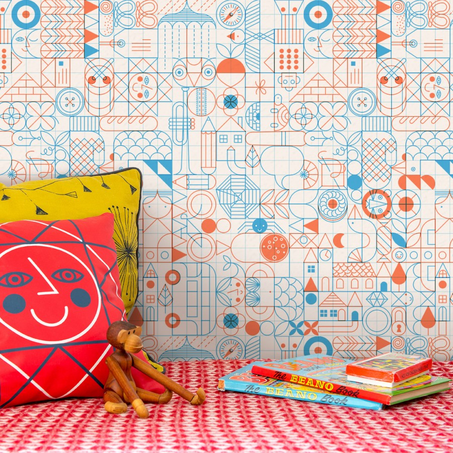 colour + shape   Interior Design Studio   Cambridge - Wallplayper