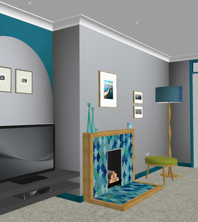 3D CAD visuals allow you to see how your interior will come to life