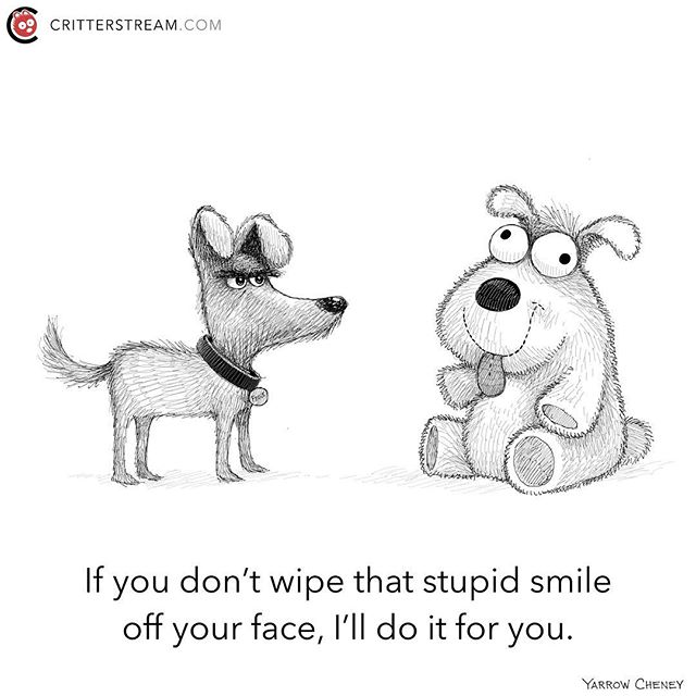 You lookin' at me? #smile #stupid #dogs #dog #funny