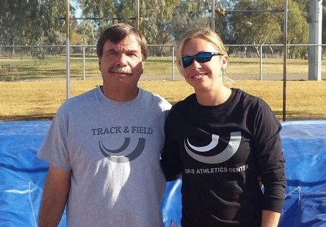 Coaches Dan Pfaff & Ellie Spain