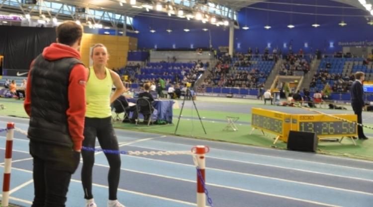 Courtney MacGuire - Bronze medallist from the Indoor British Championships