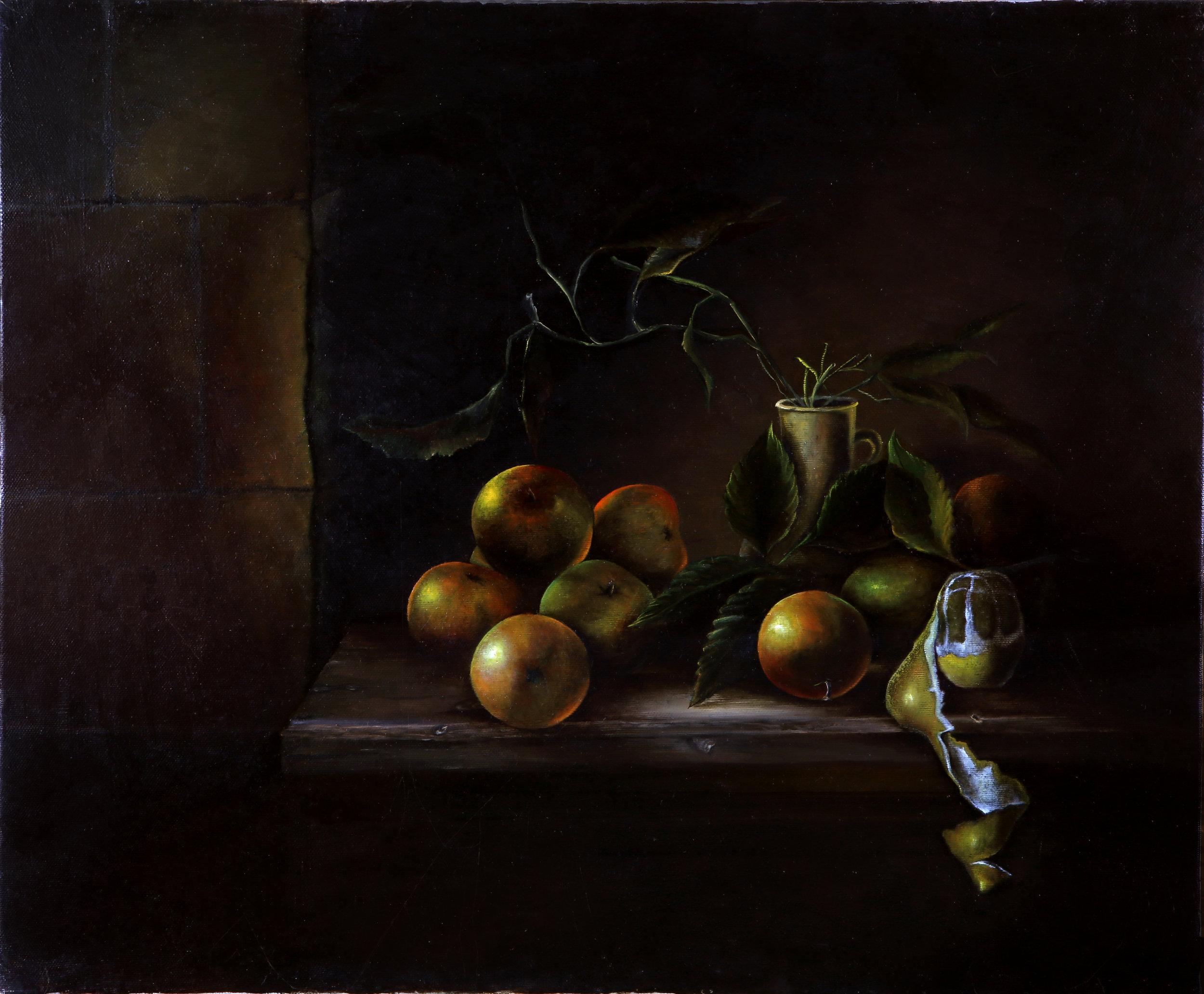 NATURE MORTE AUX FRUITS (61x50) Création